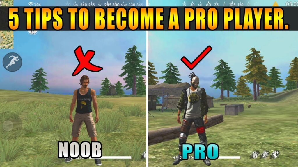 How to become a pro in free fire?