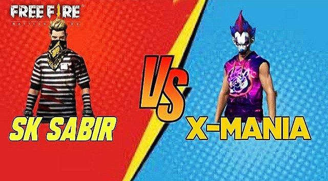 Sabir Boss vs X-Mania Free Fire